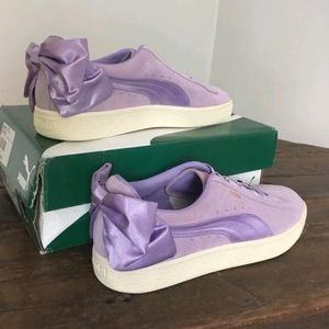 Puma Bow Sneakers